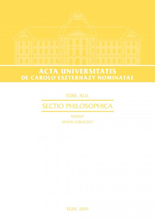 Acta Universitatis: Sectio Philosophica